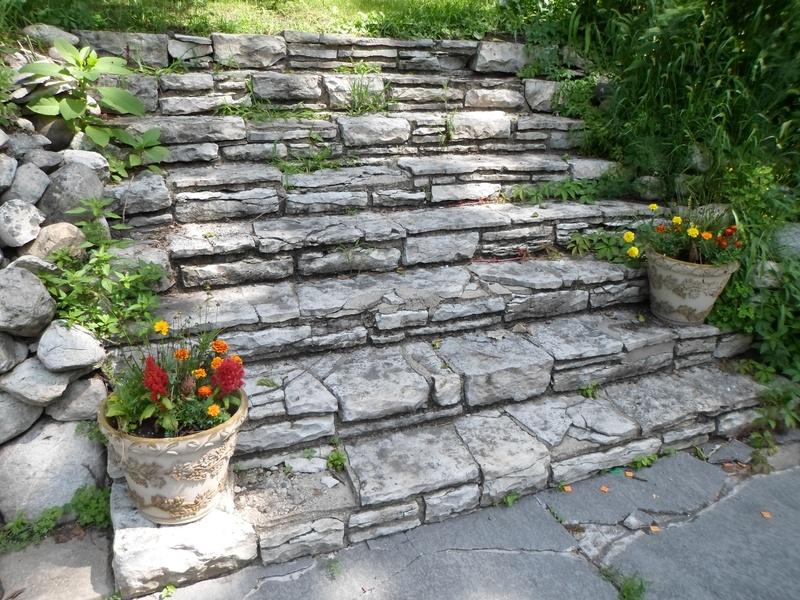Flag Stone Staircase