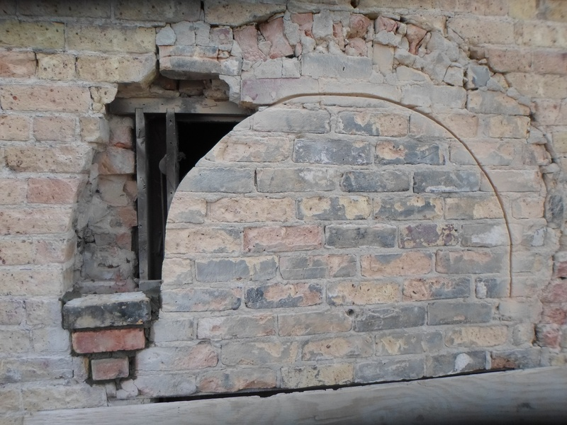Window arches during...